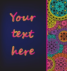 Background for text vector image vector image