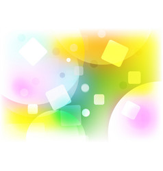 abstract background multi shape color concept vector image