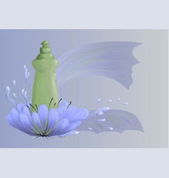Cleaning product4 vector