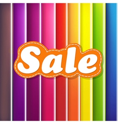 Colorful Background With Sale Text vector