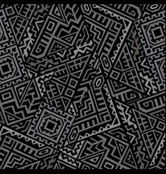 Creative geometric seamless pattern vector