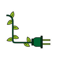 Ecological flat vector