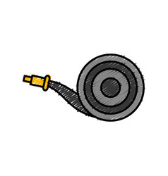 gardening hose icon vector image