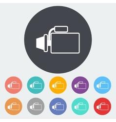 Icon automotive starter vector image