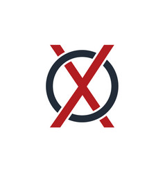 Letter initial logotype logo vector
