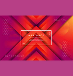 modern abstract 3d triangle gradient background vector image