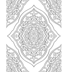 Ornamental eastern pattern vector