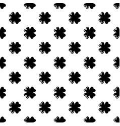 quatrefoil leaf pattern seamless vector image