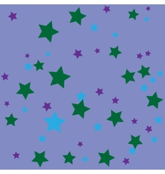 Simple abstract background with stars vector image