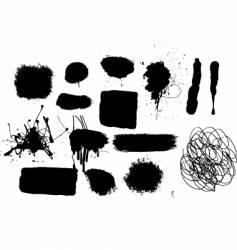 grunge mark vector image vector image