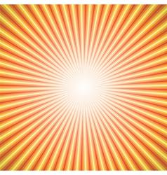 star burst orange vector image