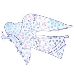 angel gradient vector image