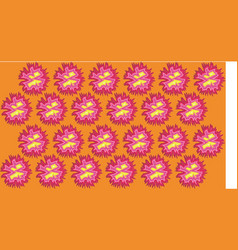 beautiful gerbera flower background vector image
