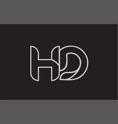 Logo h d vector images over 150 black and white alphabet letter hd h d logo vector thecheapjerseys Choice Image