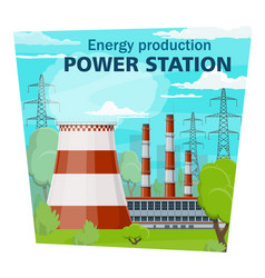 Electricity industry power station and energy vector