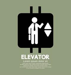 Elevator Graphic Symbol vector