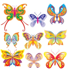 Fabulous butterfly vector