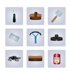 grooming kit vector image