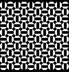 honeycomb seamless hexagons pattern background vector image