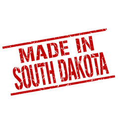 Made in south dakota stamp vector