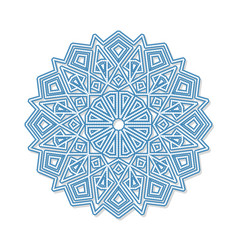 Mandala decorative round ornament anti-stress vector