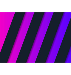 modern paper layered geometric vector image