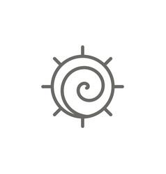 Native symbol icon spiritual concept vector