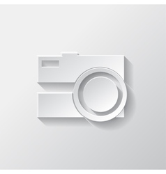 Photo camera icon Photography vector