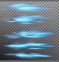special light effect flare lighting isolated vector image