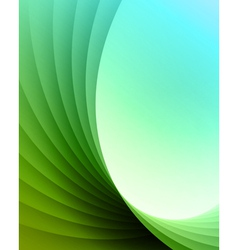 Colorful smooth lines background vector image vector image