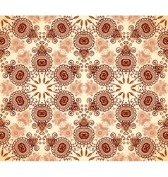 Vintage colors abstract stars seamless pattern vector