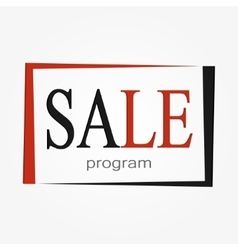 big SALE icon for all shop vector image vector image