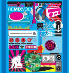 remix vector image vector image