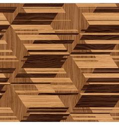 wooden mosaic vector image