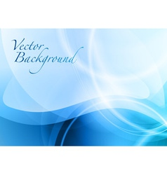 background abstract blue vector image vector image