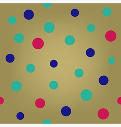 Pop art polka dot seamless background vector