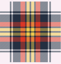 Seamless tartan check plaid background vector