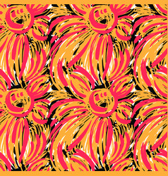 seamless textile pattern print fashion trendy vector image