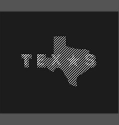 texas state logo emblem t-shirt design on a dark vector image