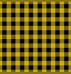 Yellow tablecloth pattern design vector