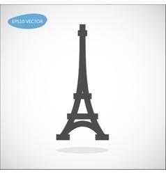 Paris symbol - Eiffel tower vector image vector image
