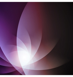 Violet smooth lines background vector image vector image