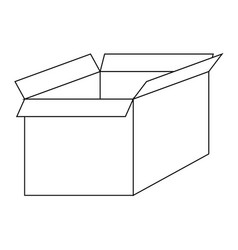 file for delete box the black color icon vector image vector image