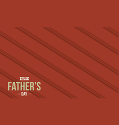 Collection stock of father day greeting card style vector