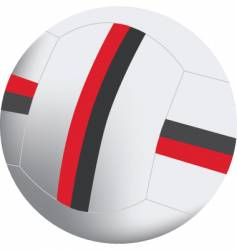 football 3d vector image
