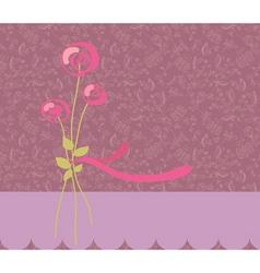 greeting romantic vector image