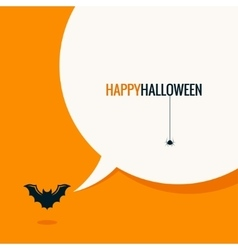 Halloween social media concept background vector