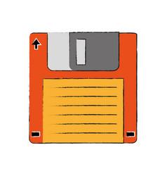 Old diskette database storage vector