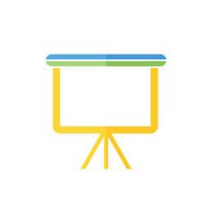 presentation icon logo vector image