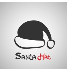 Santa Hat Icon vector image